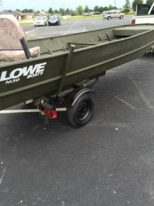 16x48 Lowe w/9.9 Johnson - Rivited Boat - REDUCED