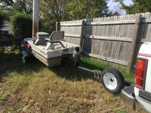 1994 Dodge Dakota & 2 Man Boat
